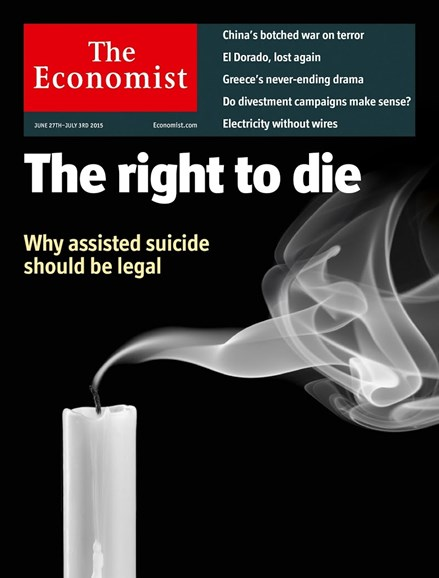 The Economist Cover - 6/27/2015