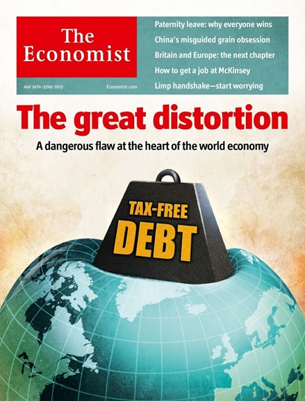 The Economist Cover - 5/16/2015