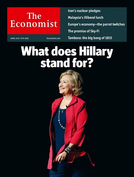 The Economist Cover - 4/11/2015