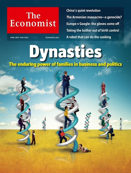 The Economist Cover - 4/18/2015