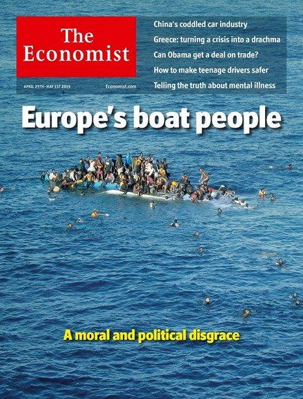 The Economist Cover - 4/25/2011