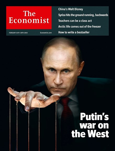 The Economist Cover - 2/14/2015