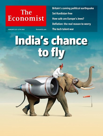 The Economist Cover - 2/21/2015