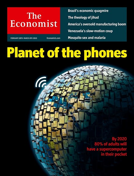 The Economist Cover - 2/28/2015