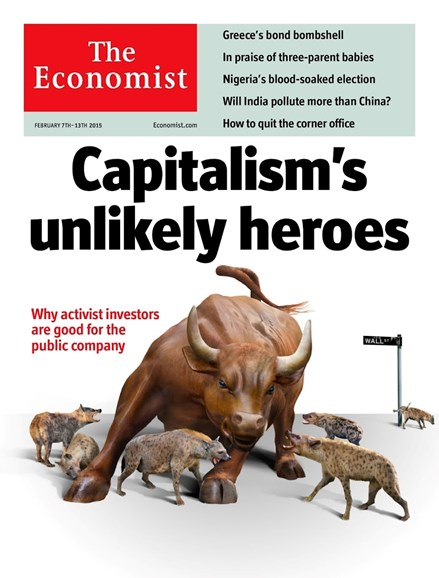 The Economist Cover - 2/7/2015
