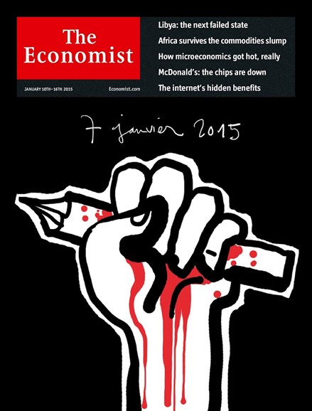 The Economist Cover - 1/10/2015