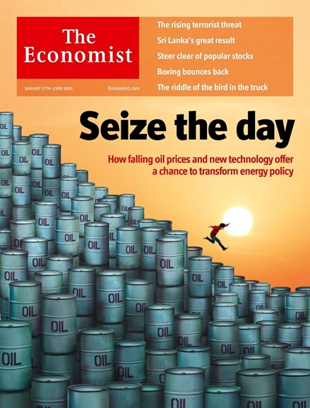 The Economist Cover - 1/17/2015