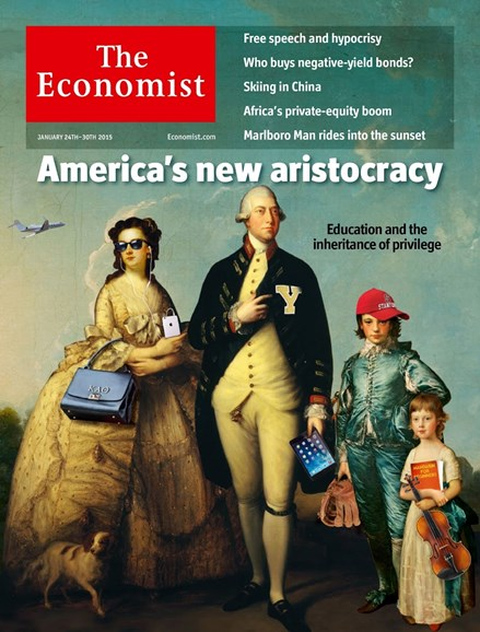 The Economist Cover - 1/24/2015