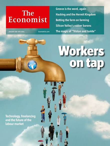 The Economist Cover - 1/3/2015