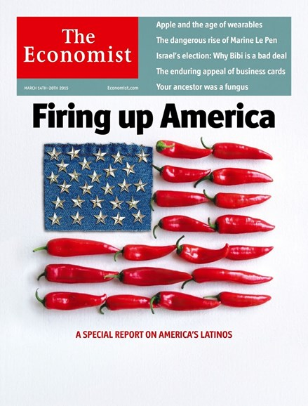 The Economist Cover - 3/14/2015