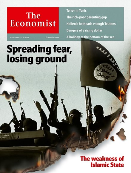 The Economist Cover - 3/21/2015