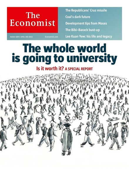 The Economist Cover - 3/28/2015