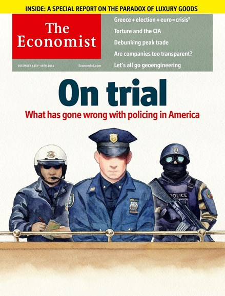 The Economist Cover - 12/1/2014