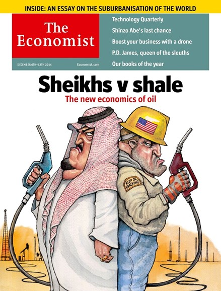The Economist Cover - 12/6/2014
