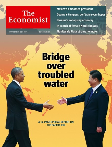 The Economist Cover - 11/15/2014