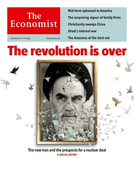 The Economist Cover - 11/1/2014