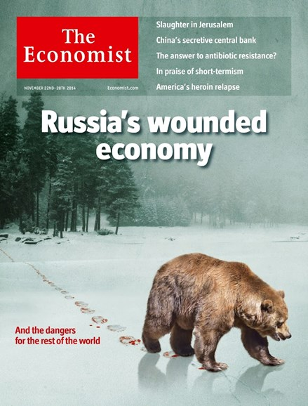 The Economist Cover - 11/22/2014