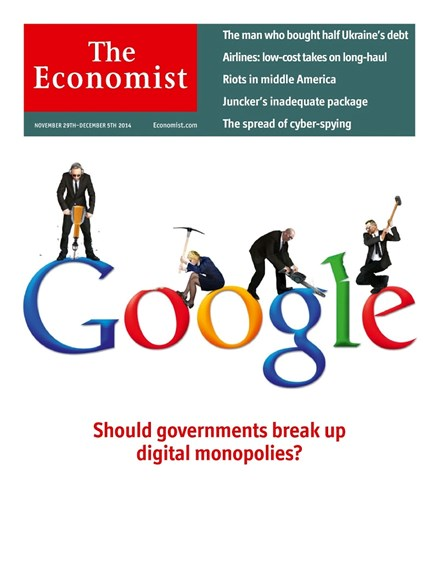 The Economist Cover - 11/29/2014