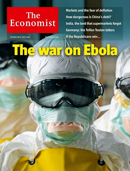 The Economist Cover - 10/18/2014