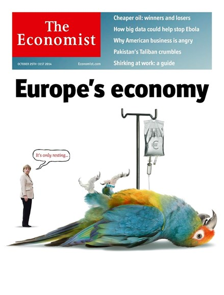 The Economist Cover - 10/25/2014