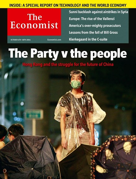 The Economist Cover - 10/4/2014