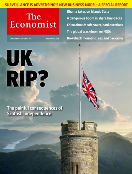 The Economist Cover - 9/13/2014