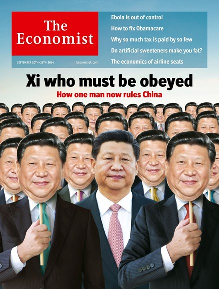 The Economist Cover - 9/20/2014