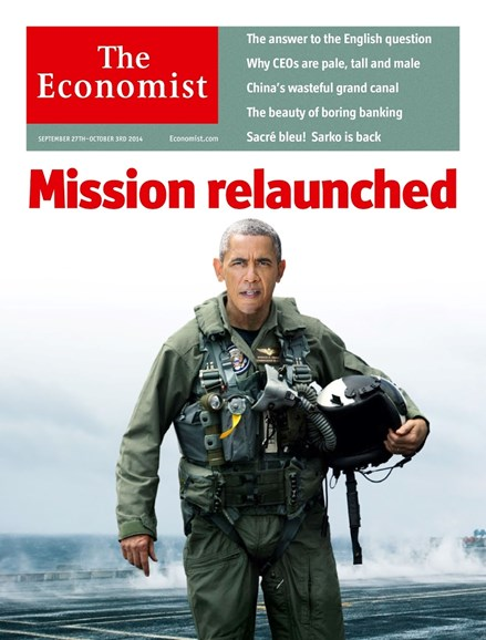 The Economist Cover - 9/27/2014