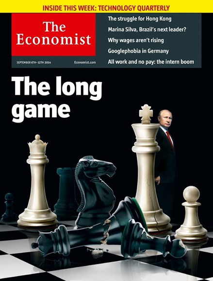 The Economist Cover - 9/6/2014