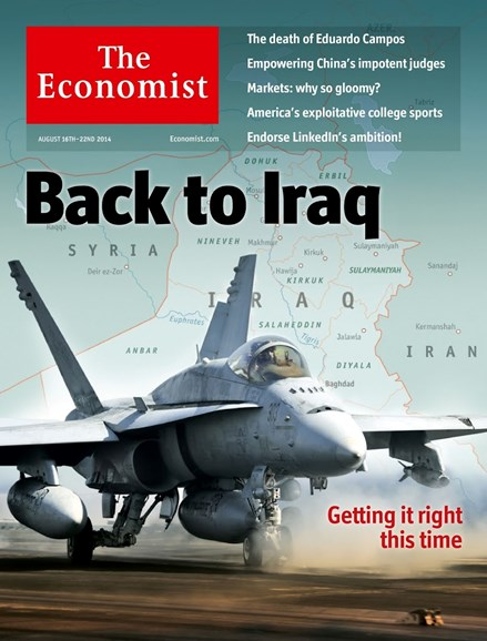 The Economist Cover - 8/16/2014