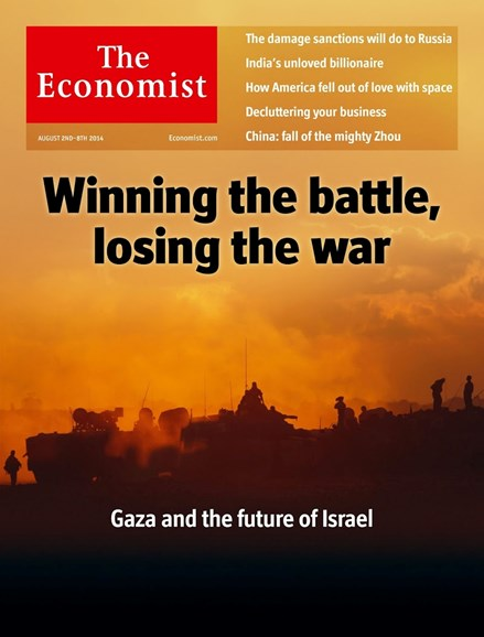 The Economist Cover - 8/2/2014