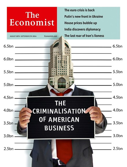 The Economist Cover - 8/30/2014