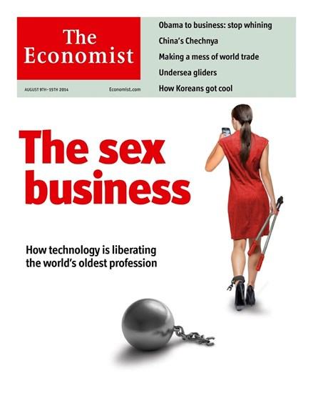 The Economist Cover - 8/9/2014