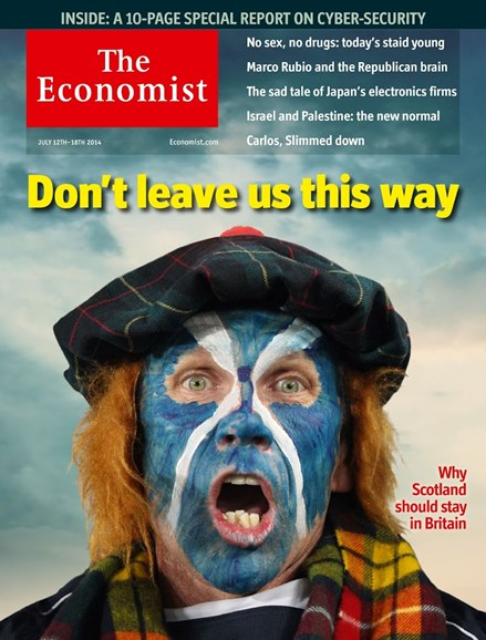 The Economist Cover - 7/12/2014