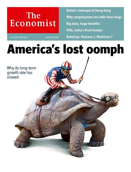 The Economist Cover - 7/19/2014