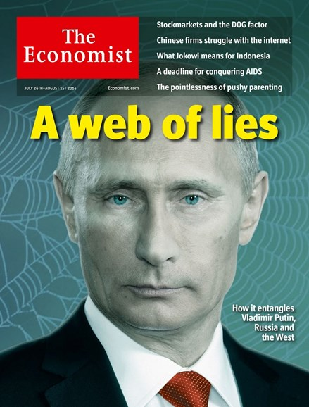The Economist Cover - 7/26/2014