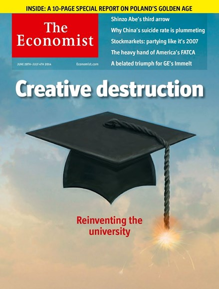 The Economist Cover - 6/28/2014