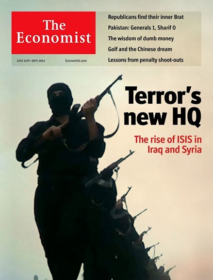 The Economist Cover - 6/14/2014