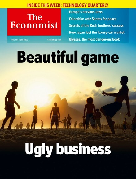 The Economist Cover - 6/7/2014