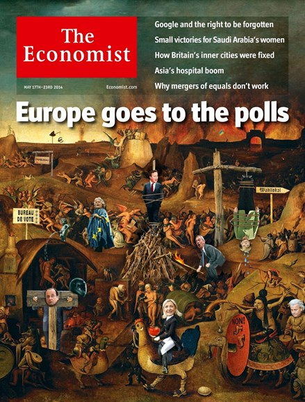 The Economist Cover - 5/17/2014