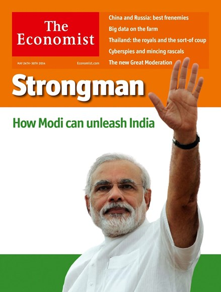 The Economist Cover - 5/24/2014