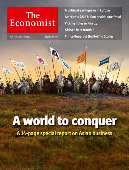 The Economist Cover - 5/31/2014
