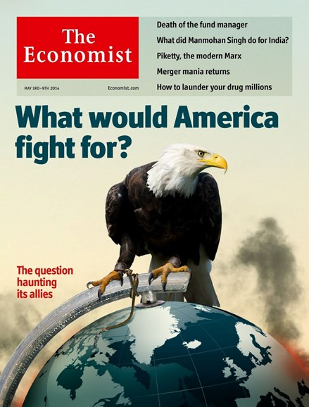 The Economist Cover - 5/3/2014