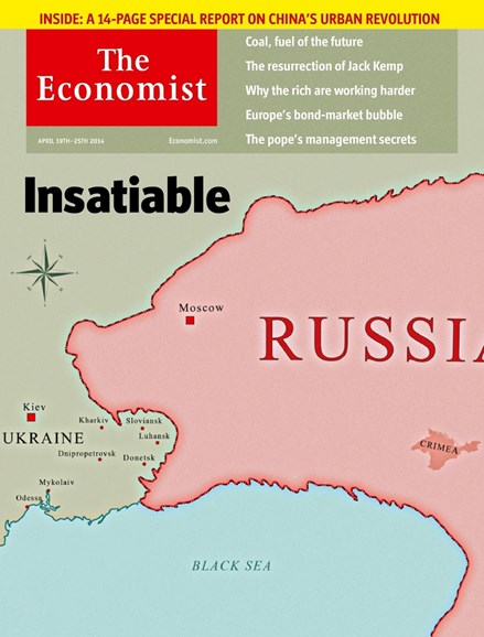The Economist Cover - 4/19/2014