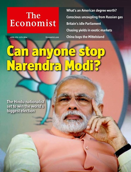 The Economist Cover - 4/5/2014