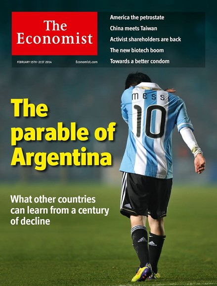 The Economist Cover - 2/15/2014