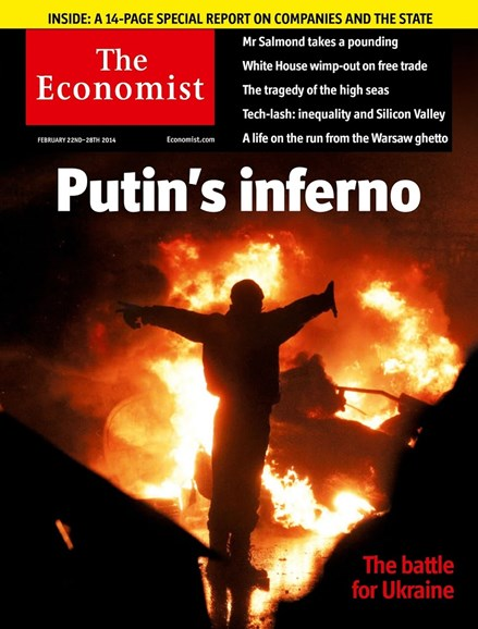 The Economist Cover - 2/22/2014