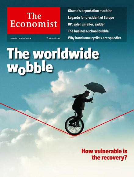 The Economist Cover - 2/8/2014