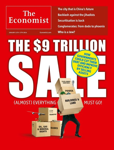 The Economist Cover - 1/11/2014