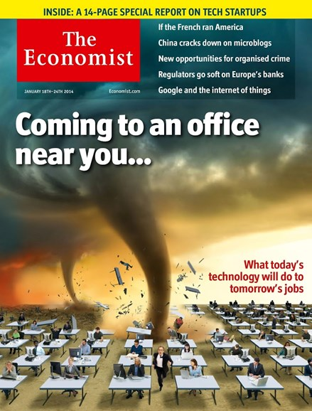 The Economist Cover - 1/18/2014